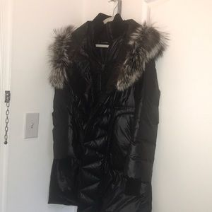 Mackage Down Coat w/ Fox Fur Hood
